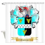 Emblem Shower Curtain