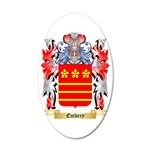 Embery 35x21 Oval Wall Decal