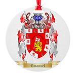 Emanuel Round Ornament