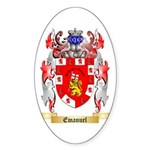Emanuel Sticker (Oval)