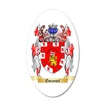Emanuel 20x12 Oval Wall Decal