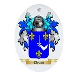 Elyahu Ornament (Oval)