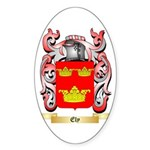 Ely Sticker (Oval 50 pk)