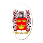Ely 35x21 Oval Wall Decal