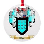 Elway Round Ornament