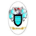 Elway Sticker (Oval 10 pk)