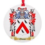 Elvins Round Ornament
