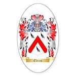 Elvins Sticker (Oval 50 pk)