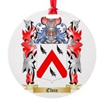 Elvin Round Ornament