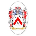 Elvin Sticker (Oval)