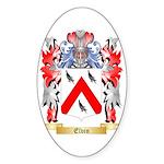 Elvin Sticker (Oval 10 pk)