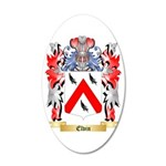 Elvin 35x21 Oval Wall Decal