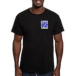 Elvey Men's Fitted T-Shirt (dark)