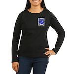 Elvey Women's Long Sleeve Dark T-Shirt