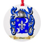 Elvey Round Ornament