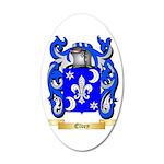 Elvey 35x21 Oval Wall Decal
