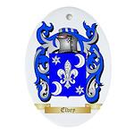 Elvey Ornament (Oval)