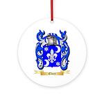 Elvey Ornament (Round)