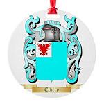 Elvery Round Ornament