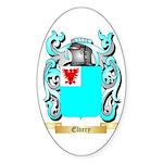 Elvery Sticker (Oval 10 pk)