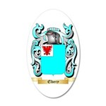 Elvery 35x21 Oval Wall Decal