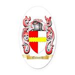 Elsworth Oval Car Magnet