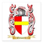 Elsworth Square Car Magnet 3