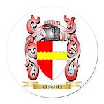 Elsworth Round Car Magnet