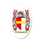 Elsworth 20x12 Oval Wall Decal