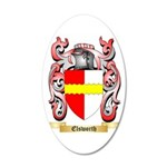 Elsworth 35x21 Oval Wall Decal