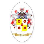 Elsey Sticker (Oval 50 pk)