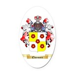 Elsemore Oval Car Magnet