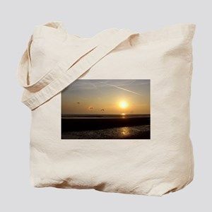 Paragliders at Sunset Tote Bag