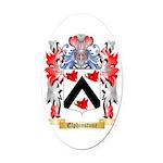 Elphinstone Oval Car Magnet