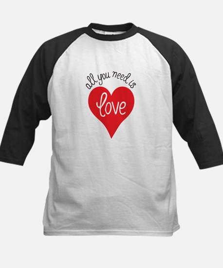 all you need is love Baseball Jersey