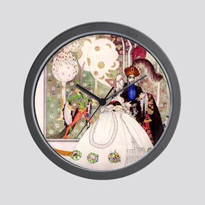Bluebeard and His Lady By Kay Nielsen Wall Clock