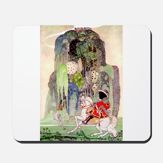 The Sleeping Beauty Prince by Kay Nielsen Mousepad