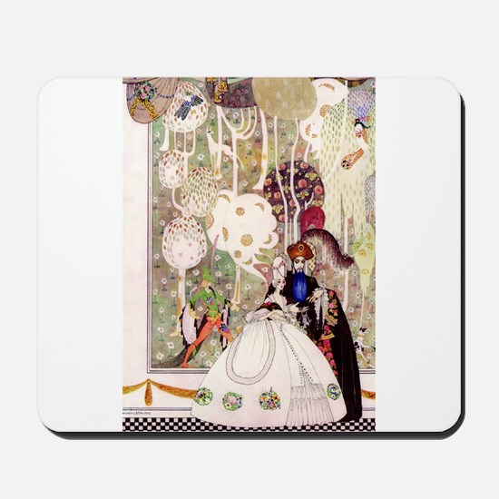 Bluebeard and His Lady By Kay Nielsen Mousepad