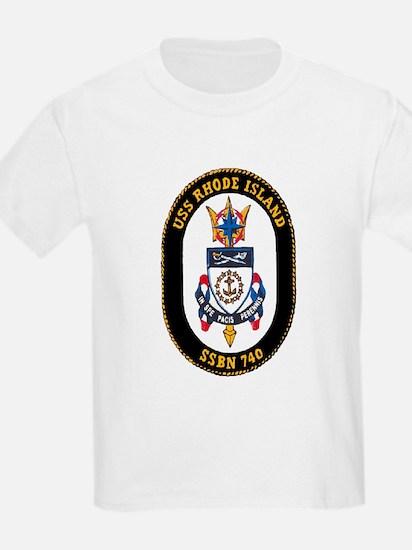 USS Rhode Island SSBN 740 T-Shirt