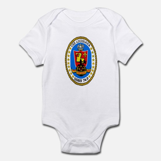 USS Louisiana SSBN 743 Infant Bodysuit