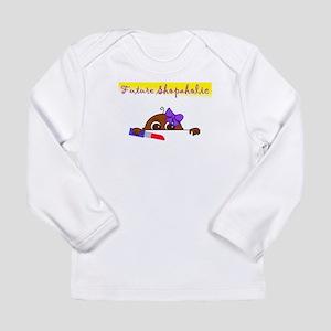 Future Shopaholic (Dark Skin) Long Sleeve T-Shirt