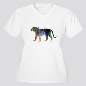 Tiger Plus Size T-Shirt