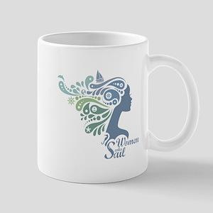Woman Who Sail Logo Mugs