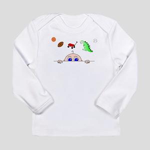 Baby BOY peeking Long Sleeve T-Shirt