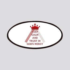 KEEP CALM AND TRUST IN GOD'S MERCY Patches