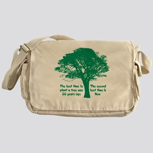 Plant a Tree Now Messenger Bag