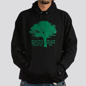 Plant a Tree Now Hoodie (dark)