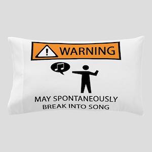 Spontaneous Singer 2 Pillow Case
