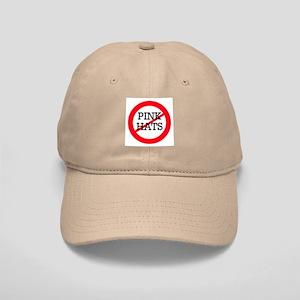 No Pink Hats Cap