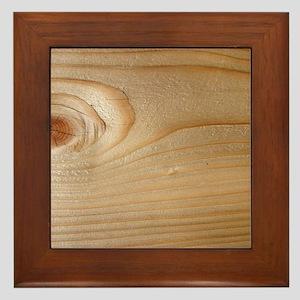 Unfinished Wood Framed Tile